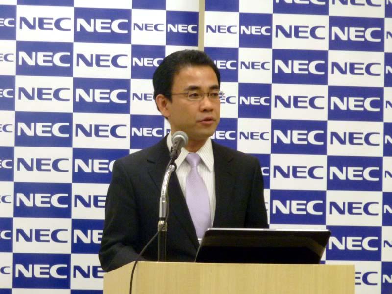 NECパーソナルプロダクツ 栗山浩一氏