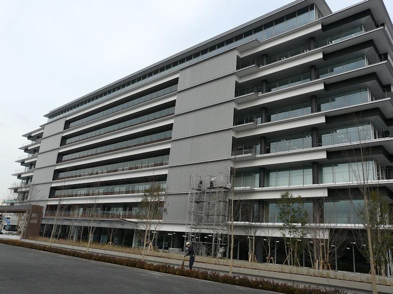 江東区大島の日本ヒューレット・パッカード新本社「HP Garage Tokyo」