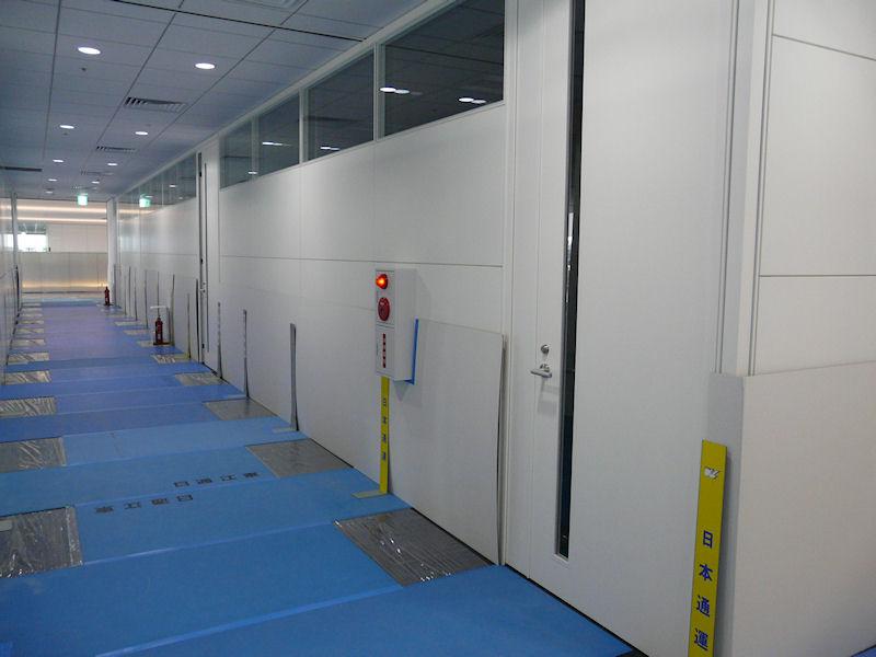 2階はトレーニングセンター機能など。セミナールームが数多く設置されている。移転はこの機能から始まることになる