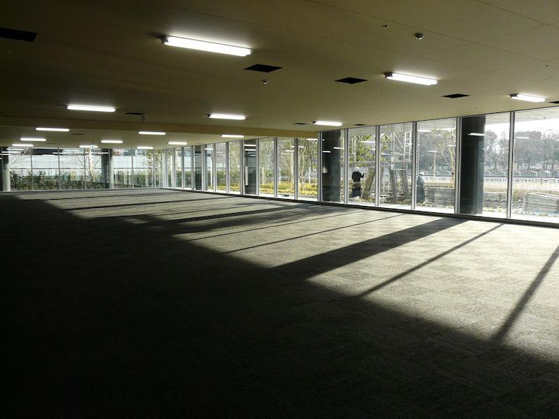 1階入口横に設置されるEBC(エグゼクティブ・ブリーフィング・センター)。サーバーをはじめとするHPの主要製品を展示する。北京に続き、アジアでは2拠点目となる
