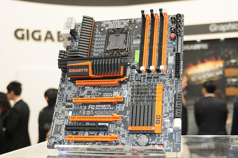 GIGABYTEが来週発表を予定しているオーバークロッカー向けマザーボード「GA-X58A-OC」