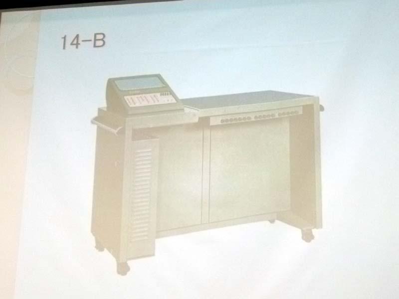 カシオ計算機「14-B」