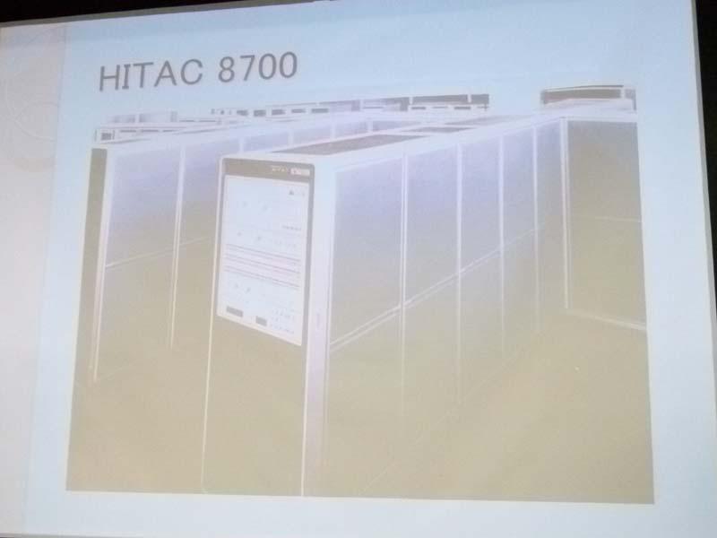 日立製作所「HITAC 8700」