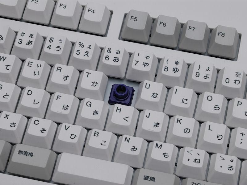 静音タイプのキーを採用