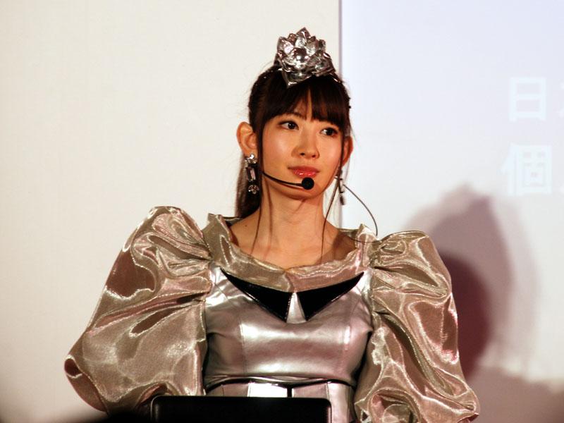 AKB48の小嶋陽菜(こじま はるな)さん
