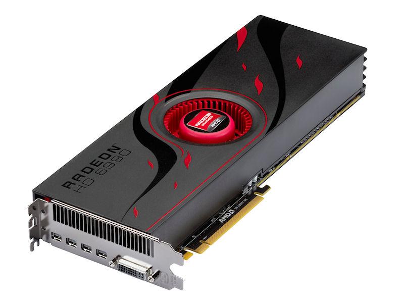 「Radeon HD 6990」
