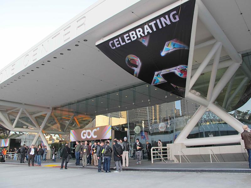 GDC会場となったモスコーコンベンションセンター
