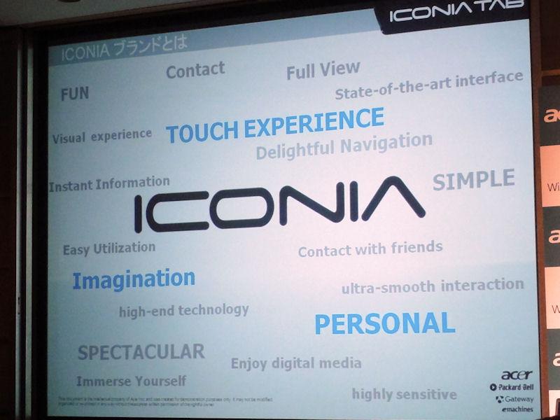 ICONIAのブランドに込められた意味。中でも青い字がもっとも端的に内容を示している