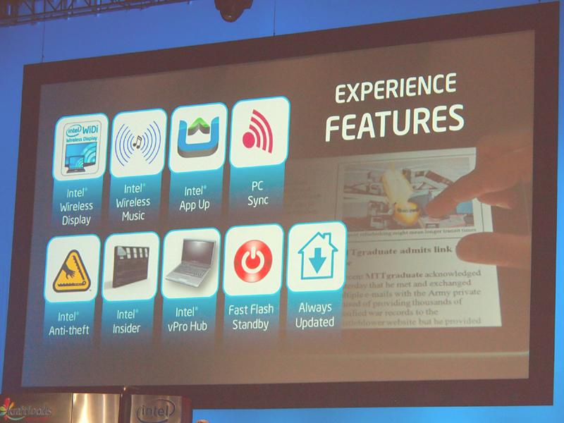 【写真6】ネットブックに比べセキュリティ面での強化が目立つタブレットのエクスペリエンス