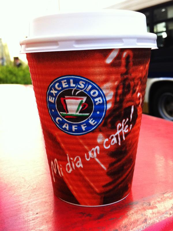 アップルからコーヒーの差し入れ