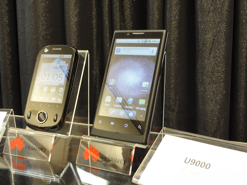 U9000(右)とC8500(左)