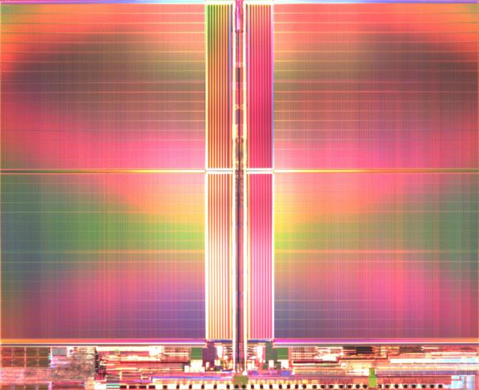 25nm技術で製造した3bit/セル方式(TLC方式)の64Gbit NANDフラッシュメモリ