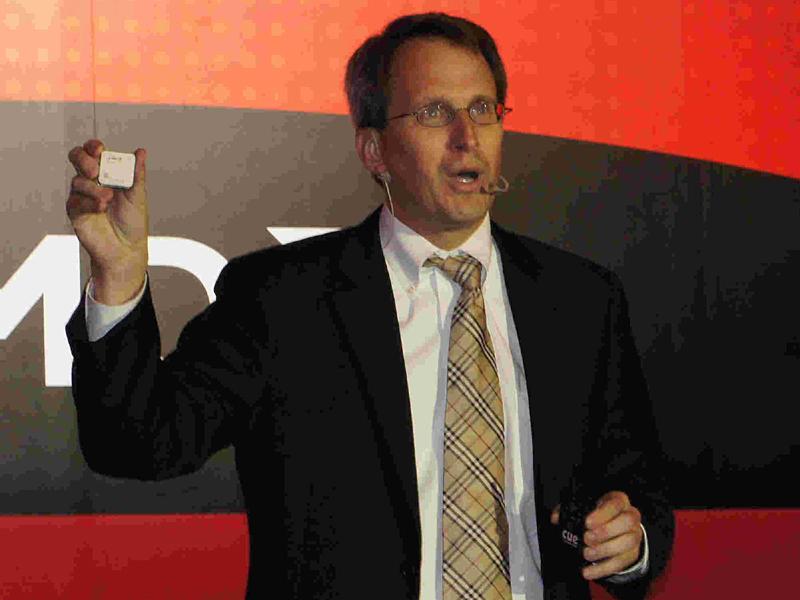 Trinityを掲げるRick Bergman(リック・バーグマン)氏(Senior Vice President and General Manager, AMD Product Group)