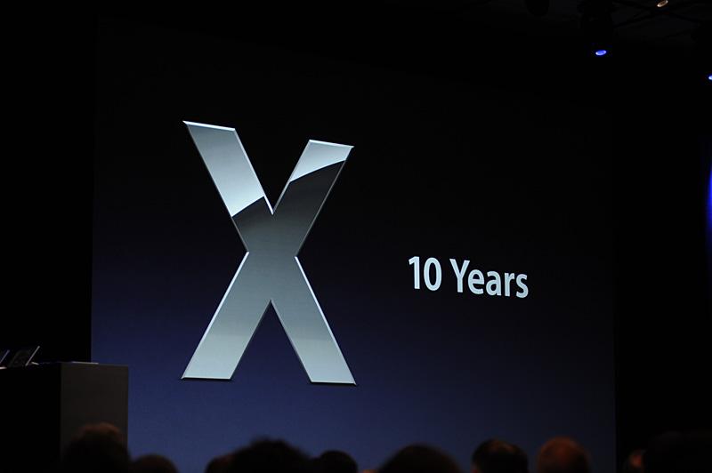 Mac OS Xの登場から、10年が経過した
