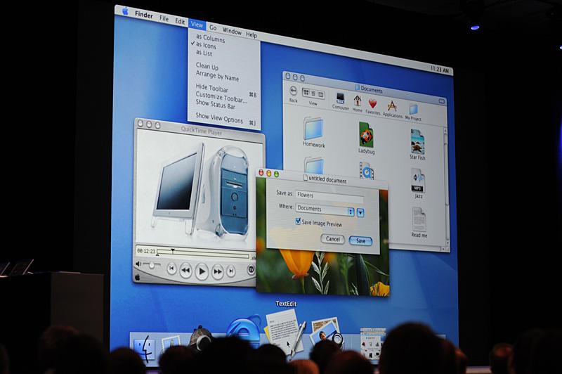 最初のMac OS X。バージョンは10.0で、コードネームは「Cheetah」