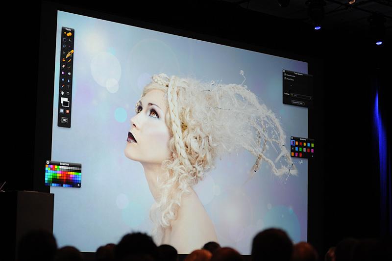 画像編集ソフトのPixelmator。Mac App Storeへの登録で以前と比べて四倍の流通となったという