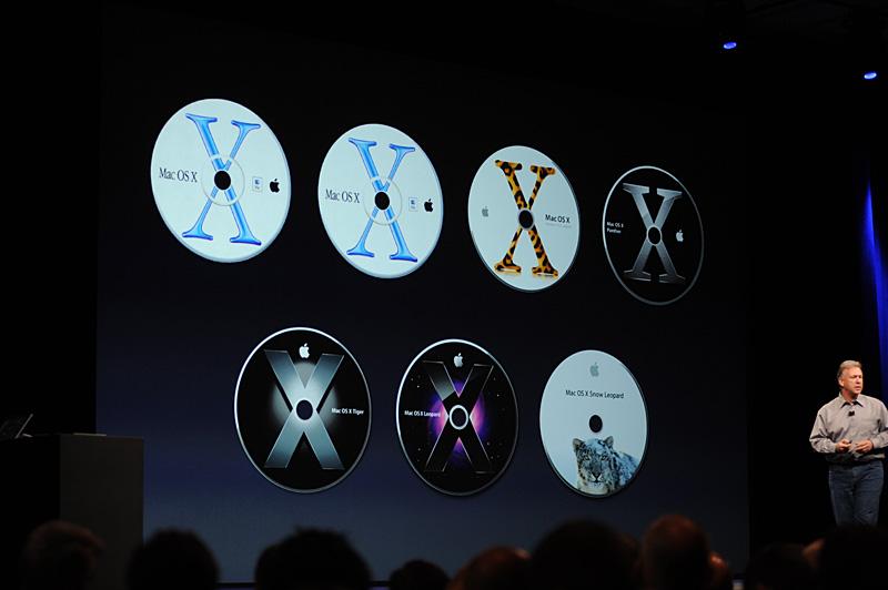 これまで光学式メディアで配布されてきた従来のMac OS X