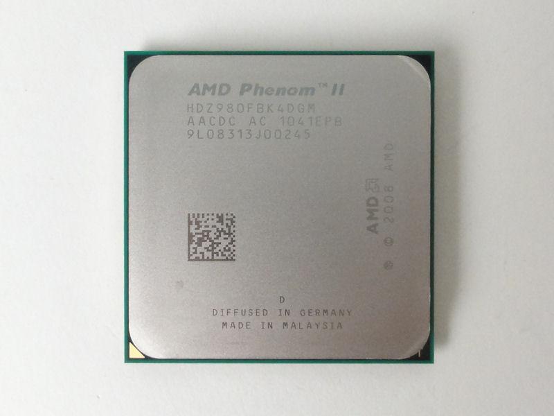 Phenom II X4 980 Black Edition