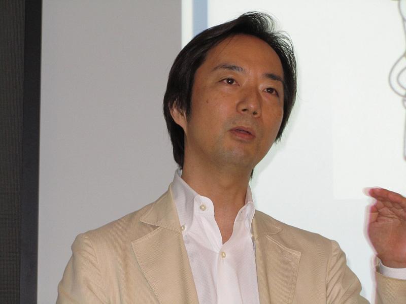 笠原健司氏