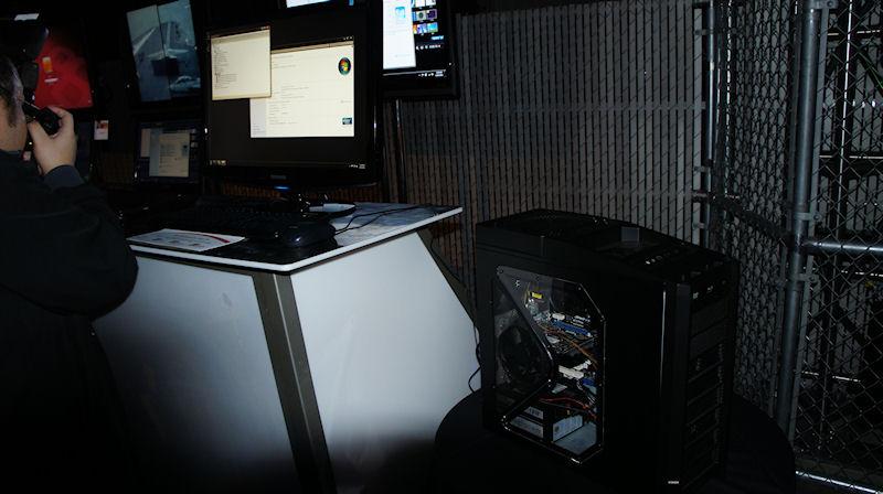 WindowsのシステムプロパティにAMD A8-3850 APU 2.9GHzと書かれた、デスクトップPC。デスクトップPC版Llanoだと思われる
