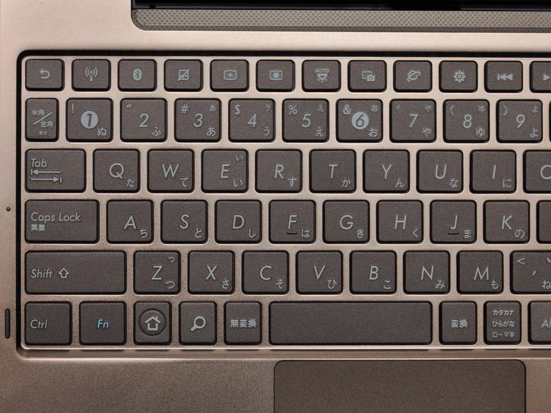 最上段や下段部分には、Androidの操作に必要なキーが用意されている。また、6キー上部のカメラの絵が書かれたボタンでスクリーンショットの保存が可能だ
