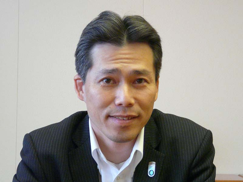 富士通 パーソナルビジネス本部先行技術プロジェクト・樋口久道プロジェクト長