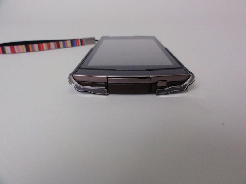 USBコネクタのある上面