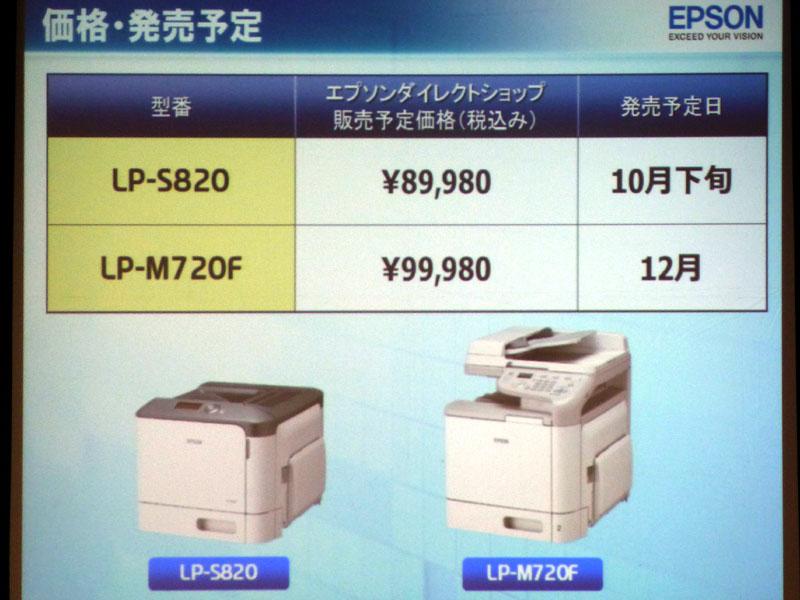 両機種とも10万円を切る実売価格