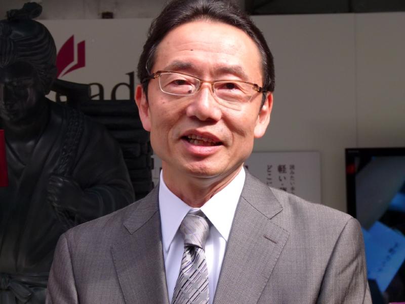 紀伊國屋書店の森啓次郎常務取締役