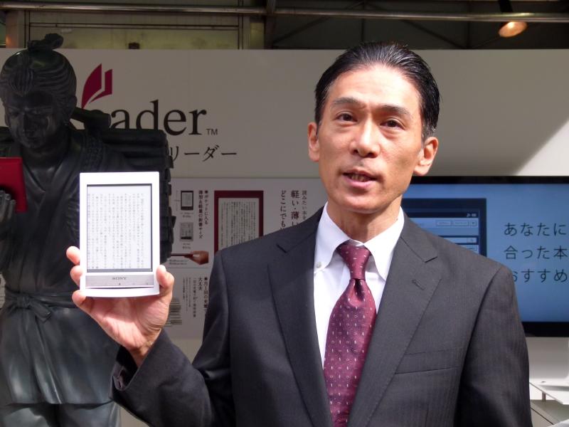 ソニーマーケティング モバイルエンタテインメントプロダクツマーケティング部・徳田耕一統括部長