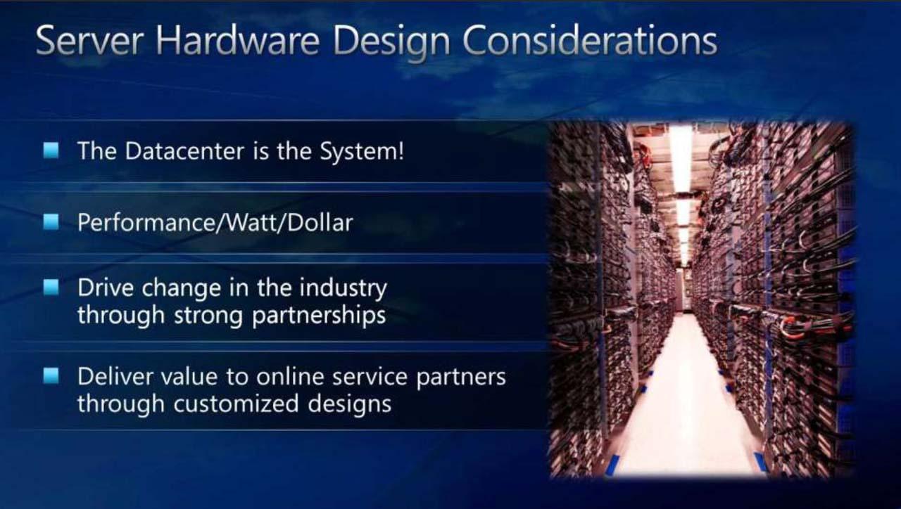 サーバーのハードウェア設計で考慮すべきこと。MicrosoftのBhandarkar氏による講演スライドから