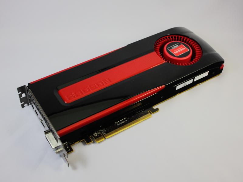Radeon HD 7970のリファレンスカード