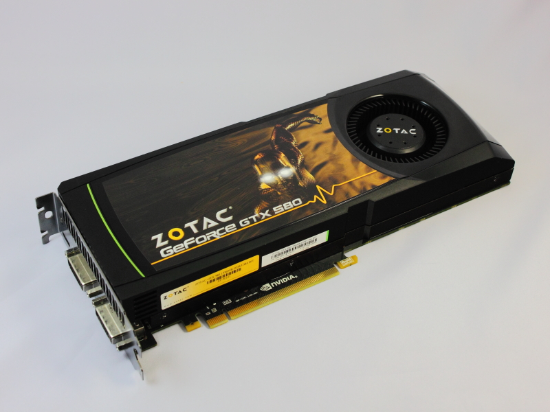 GTX 580搭載ビデオカード、ZOTAC「ZT-50101-10P」
