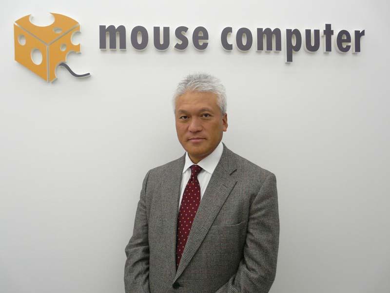マウスコンピューターの小松永門社長