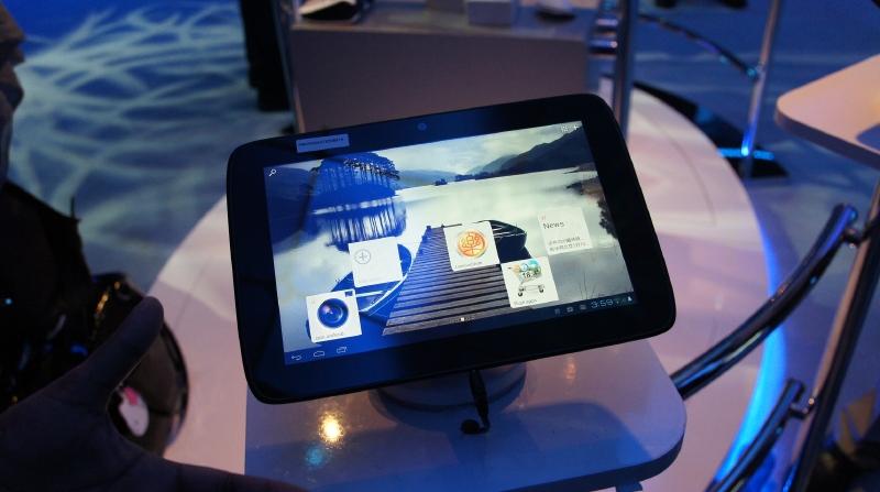 Lenovoが試作したAtom Z2460搭載10型タブレット