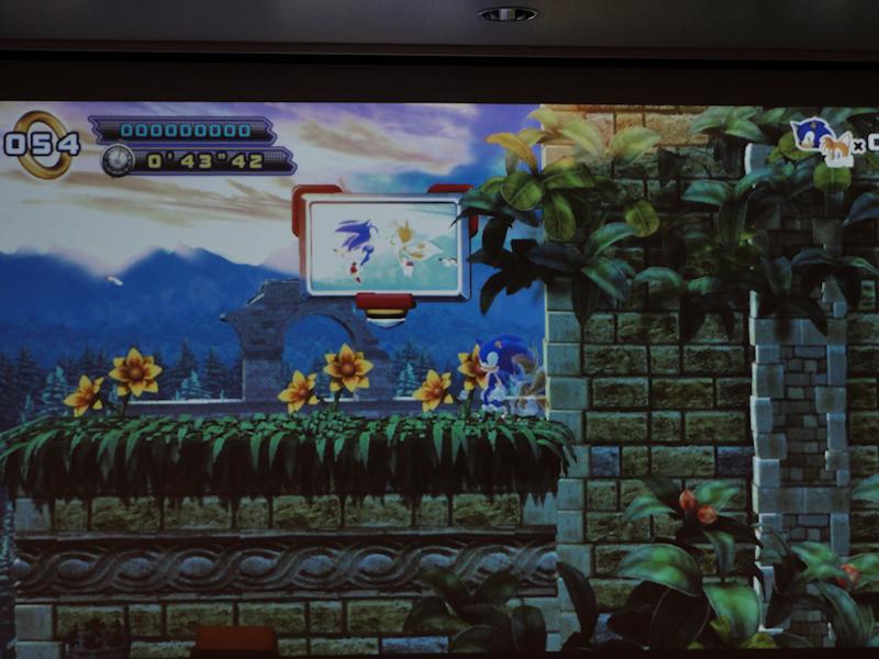 Sonic the Hedgehog 4: Episode IIの実際の画面