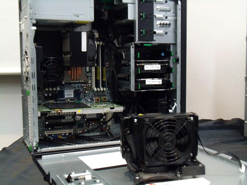 Z420の内部
