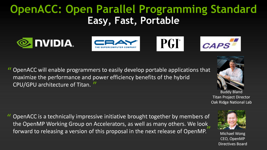 OpenACCのアプローチ