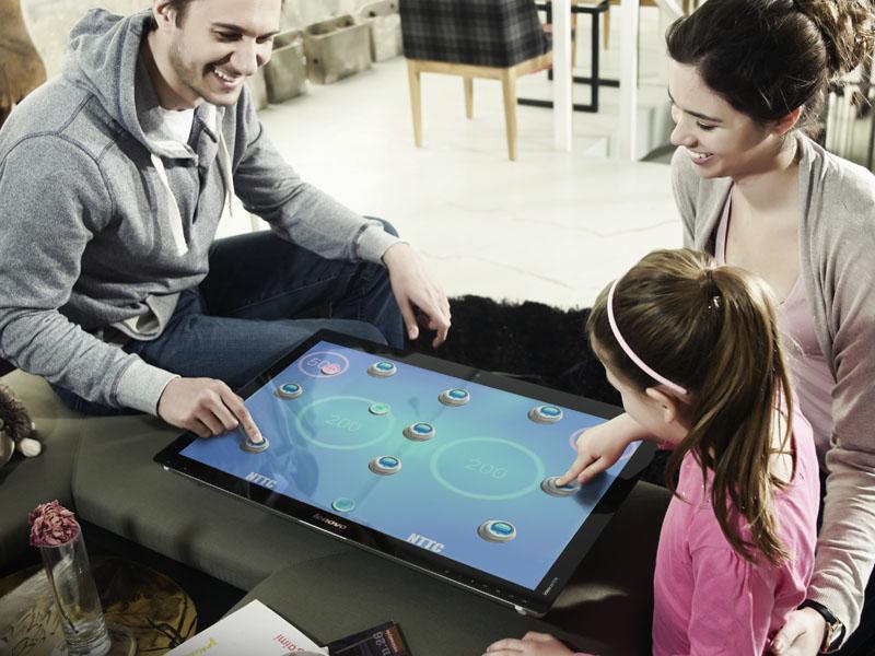 平面にして複数人で遊ぶイメージ