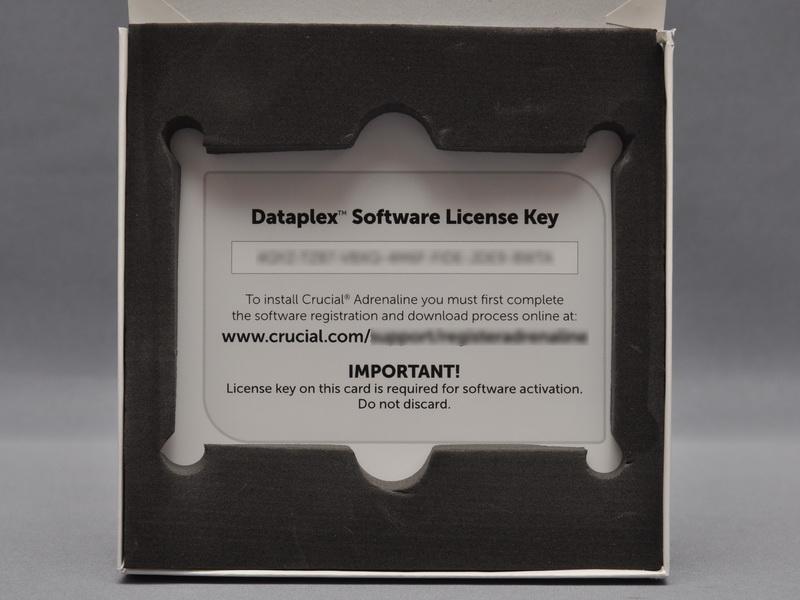 HDDキャッシュ機能を実現する付属ソフトはパッケージには添付されておらず、箱に記載されているURLからダウンロードして利用する