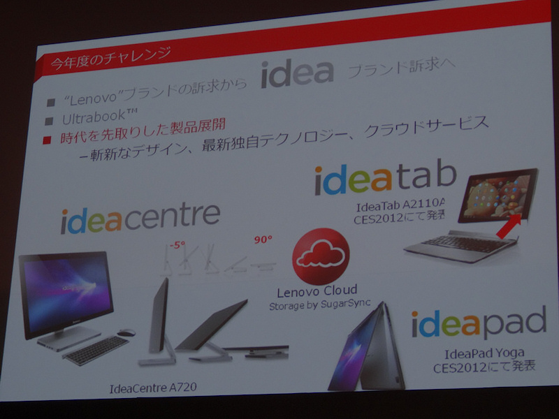 CESで発表した先進的製品も可能な限り日本に投入する