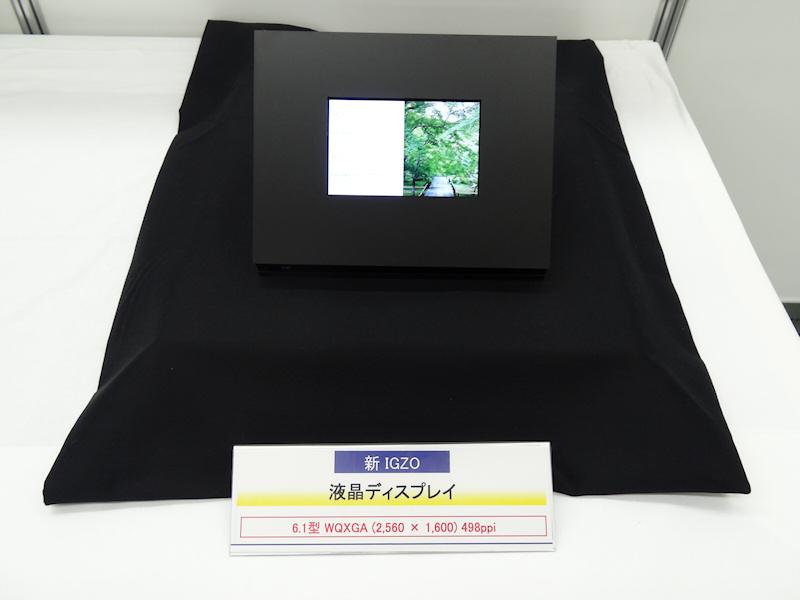 2,560×1,600ドット表示対応6.1型液晶