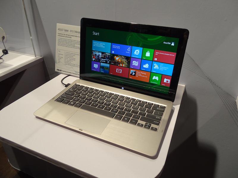 Tablet 810。次世代Atom+Windows 8