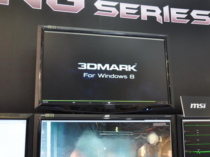 Futuremarkの次期3Dベンチマークソフト「3DMark For Windows 8」を世界初、稼働デモ