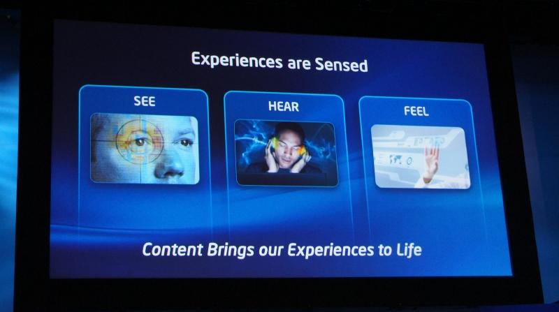 ユーザー体験を改善するには、コンテンツを見る、聴く、感じという体験を改善していく必要がある