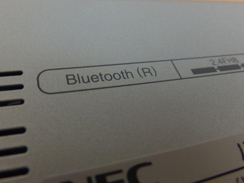 Bluetoothの表記