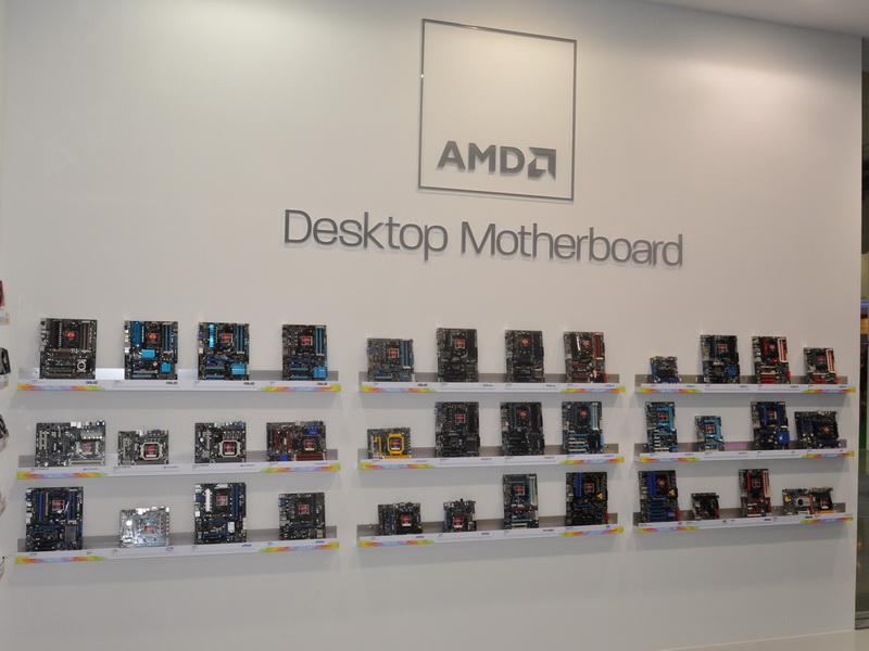 AMDブース