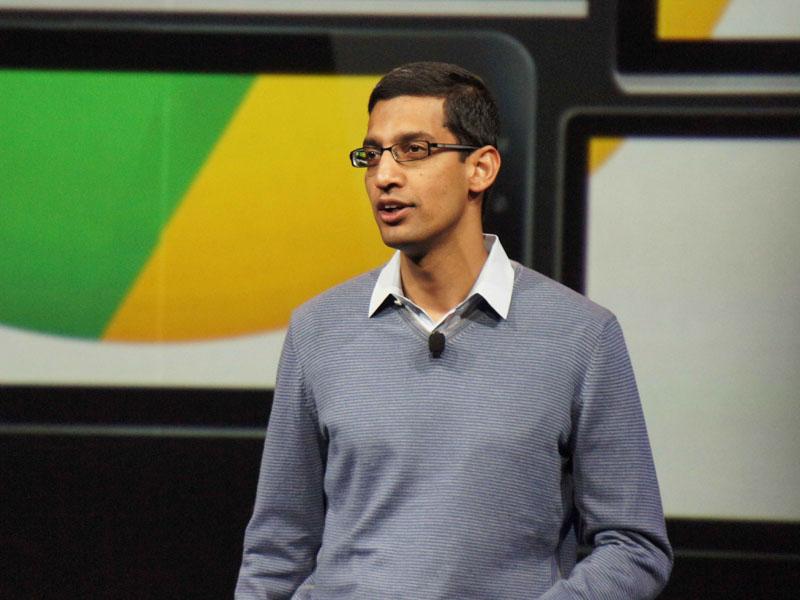GoogleのSundar Pichai(スンダー・ピチャイ)氏(Senior Vice President, Chrome & Apps, Google)