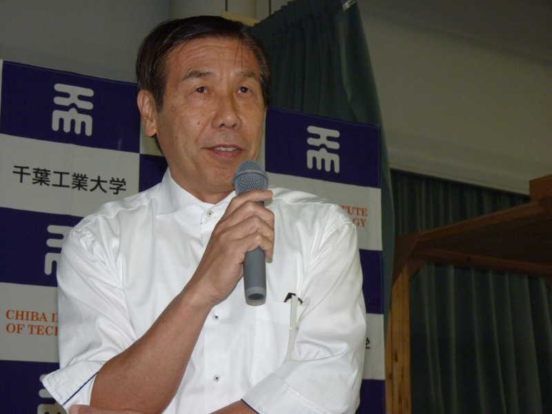 fuRo副所長の小柳栄次氏