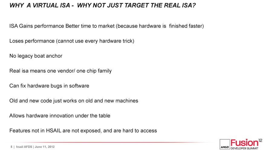 GPUが仮想ISAモデルをとるのはなぜか
